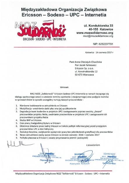 Wniosek MOZ Solidarnosc Ericsson[241367]1